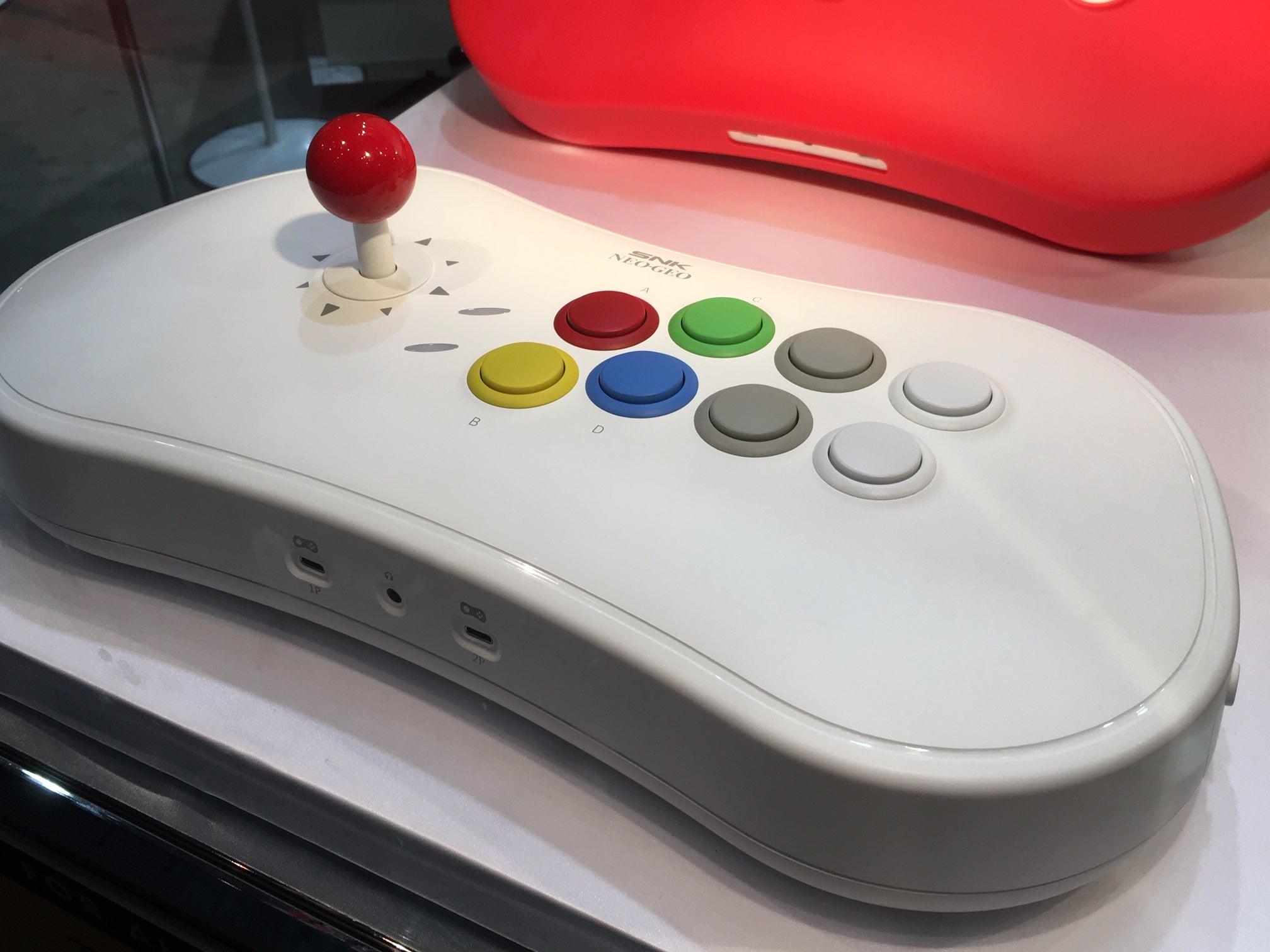 The Neo Geo Arcade Stick Pro Is Massive In-Person