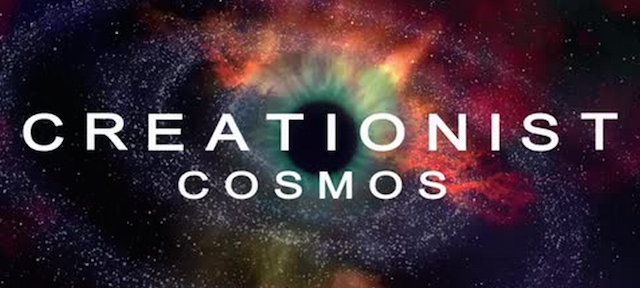 What a creationist version of the Cosmos would look like