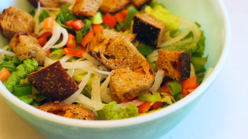 How To Make Croutons With Whatever Stale Bread You Happen To Have