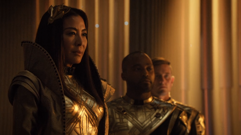 The Detailed Reason For Every One Of Emperor Georgiou's Lavish Titles On Star Trek: Discovery