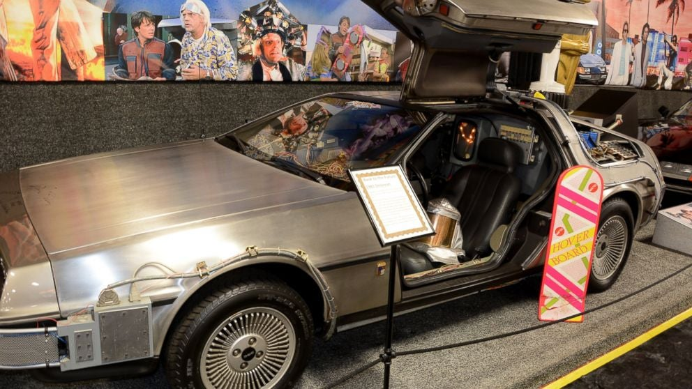 Museum Giving Away Back to the Future Car (If Cubs Win World Series)