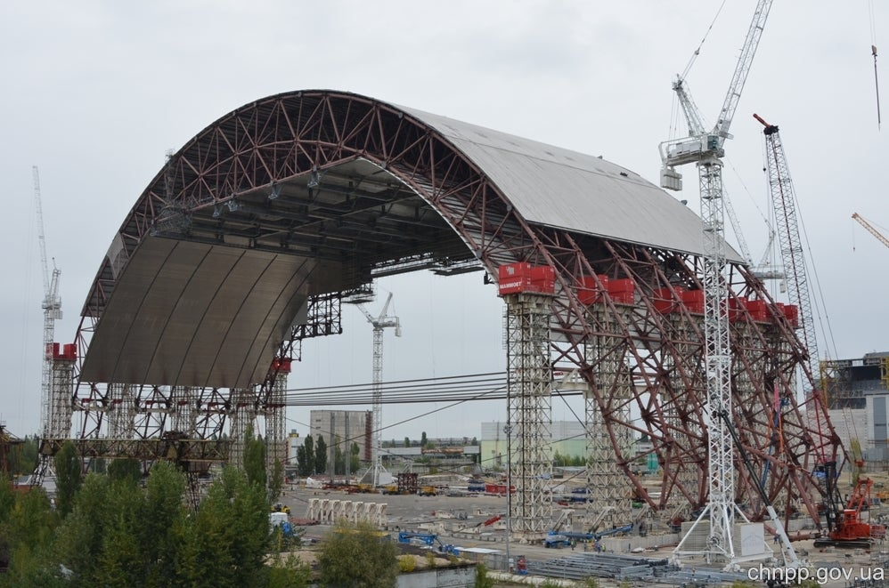 Chernobyl's Steel Radiation Shield Is the Biggest Moving Structure Ever