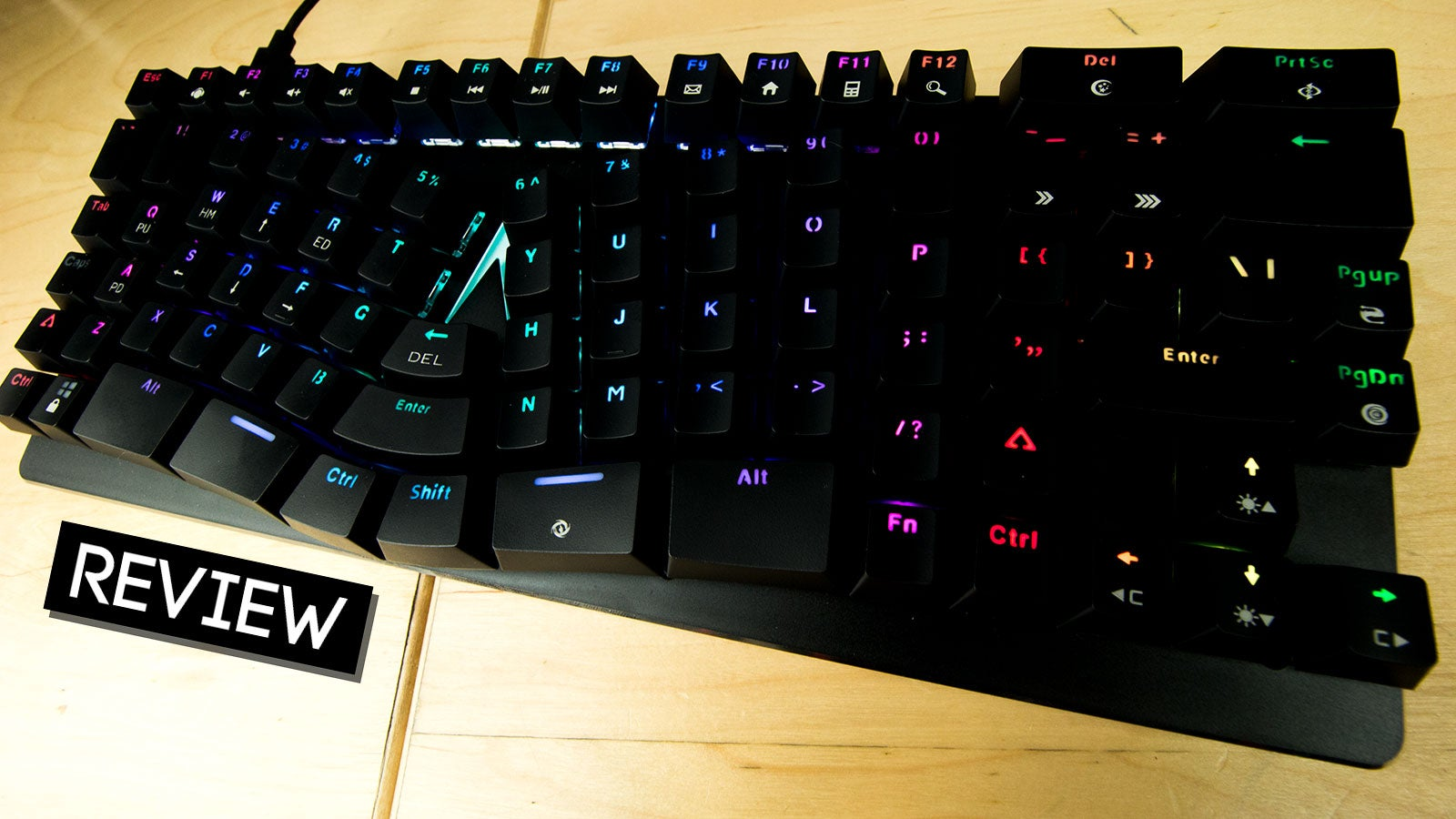 Gaming meets work in a new Mechanical Keyboard