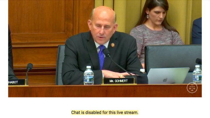 YouTube Shuts Down Chats After Streams Of House Hearing On White Nationalism Are Flooded By White Nationalists