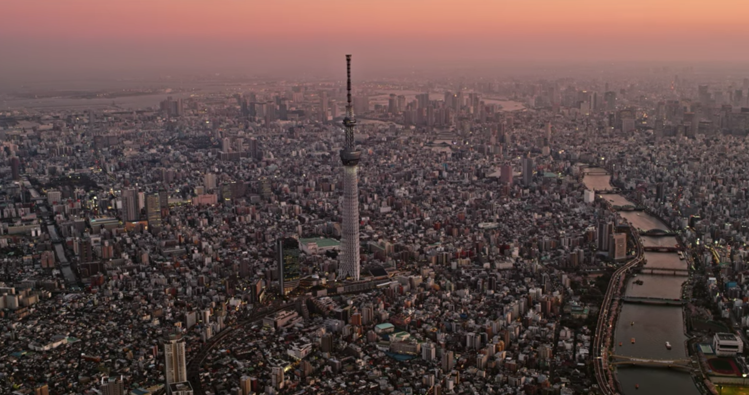Japanese Cities Look Stunning In 8K