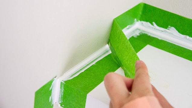 Use Painter's Tape to Get Perfectly Clean Edges When Caulking