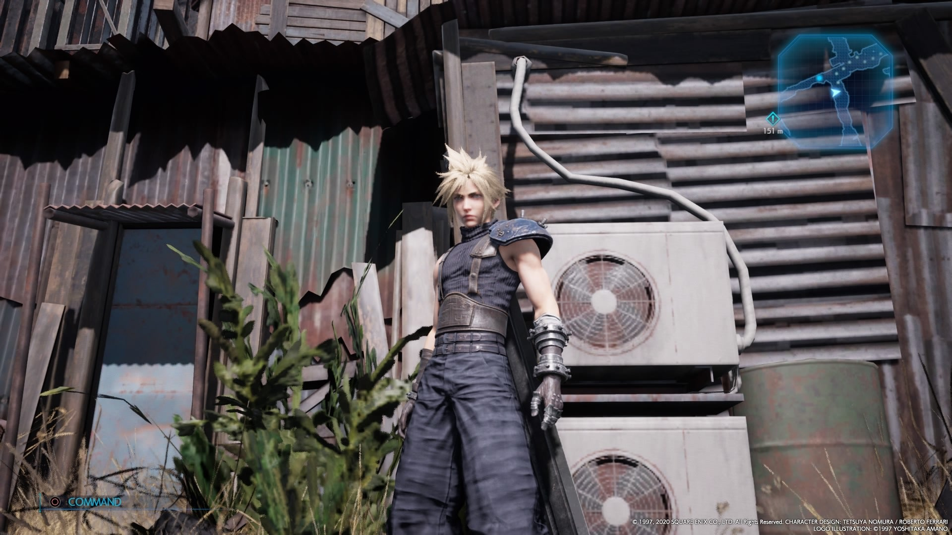 Final Fantasy VII Remake Has Very Realistic Air-Conditioning Units