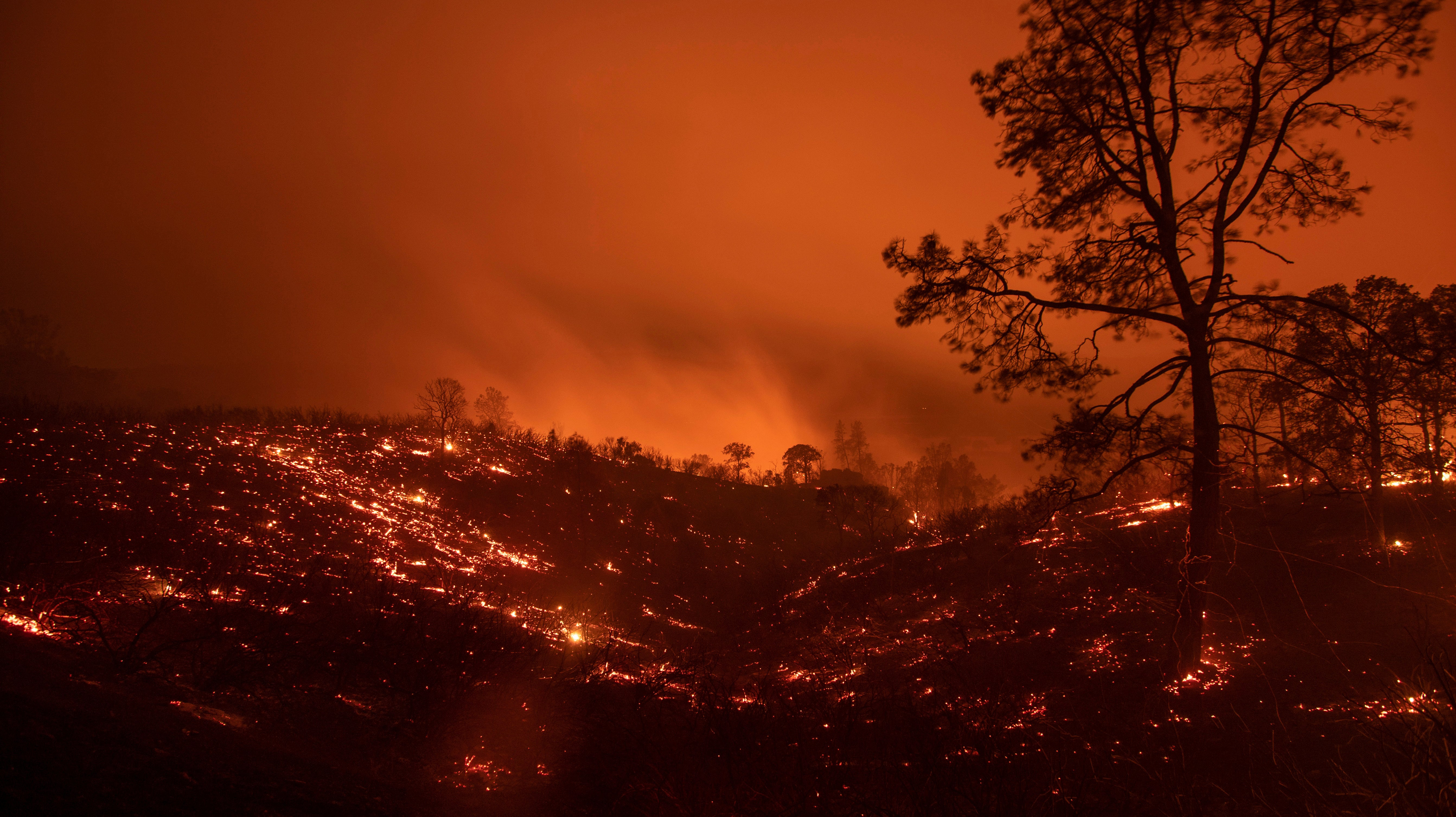 The Mendocino Complex Fire Is Now The Largest In California's History