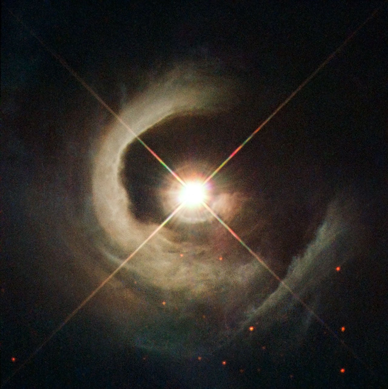New spectacular photo of a very special star