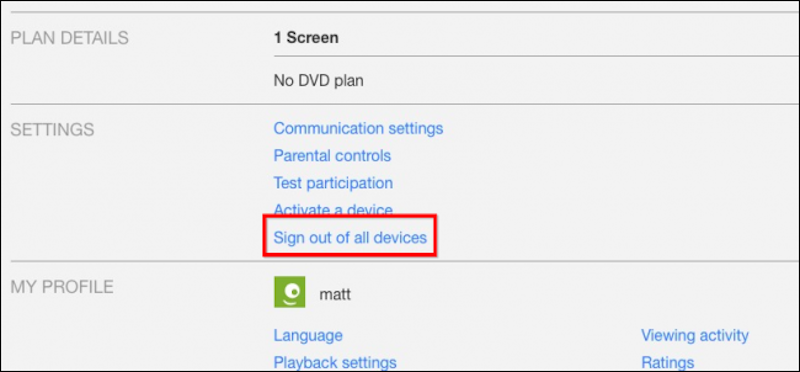 Netflix Makes It Easy To Log Out Of Every Device