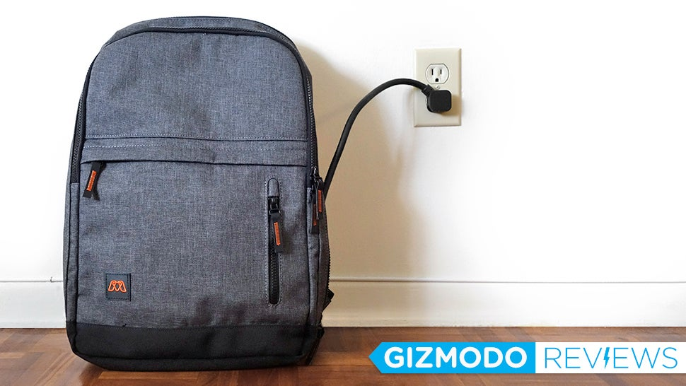 MOS Pack Charging Backpack: The Gizmodo Review