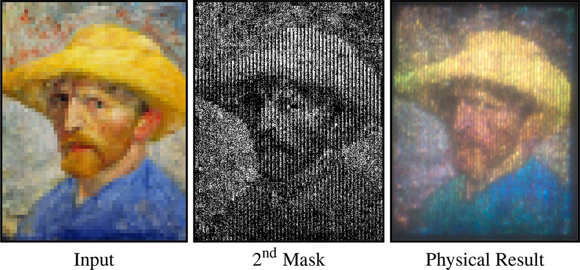 Cheap Projector Uses Prisms to Create Colour Images from B&W Source