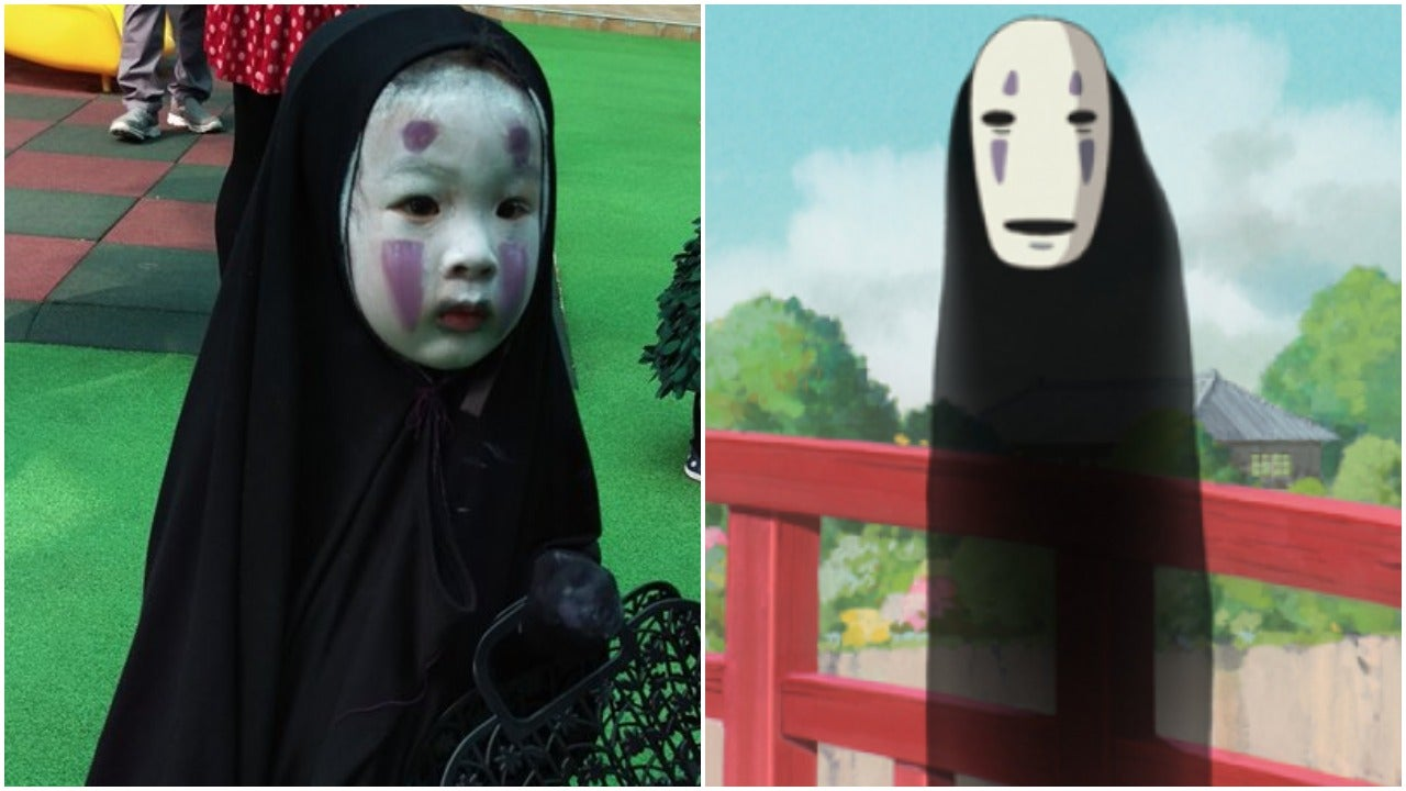 Kid Dresses As Studio Ghibli Character, Becomes Internet Sensation