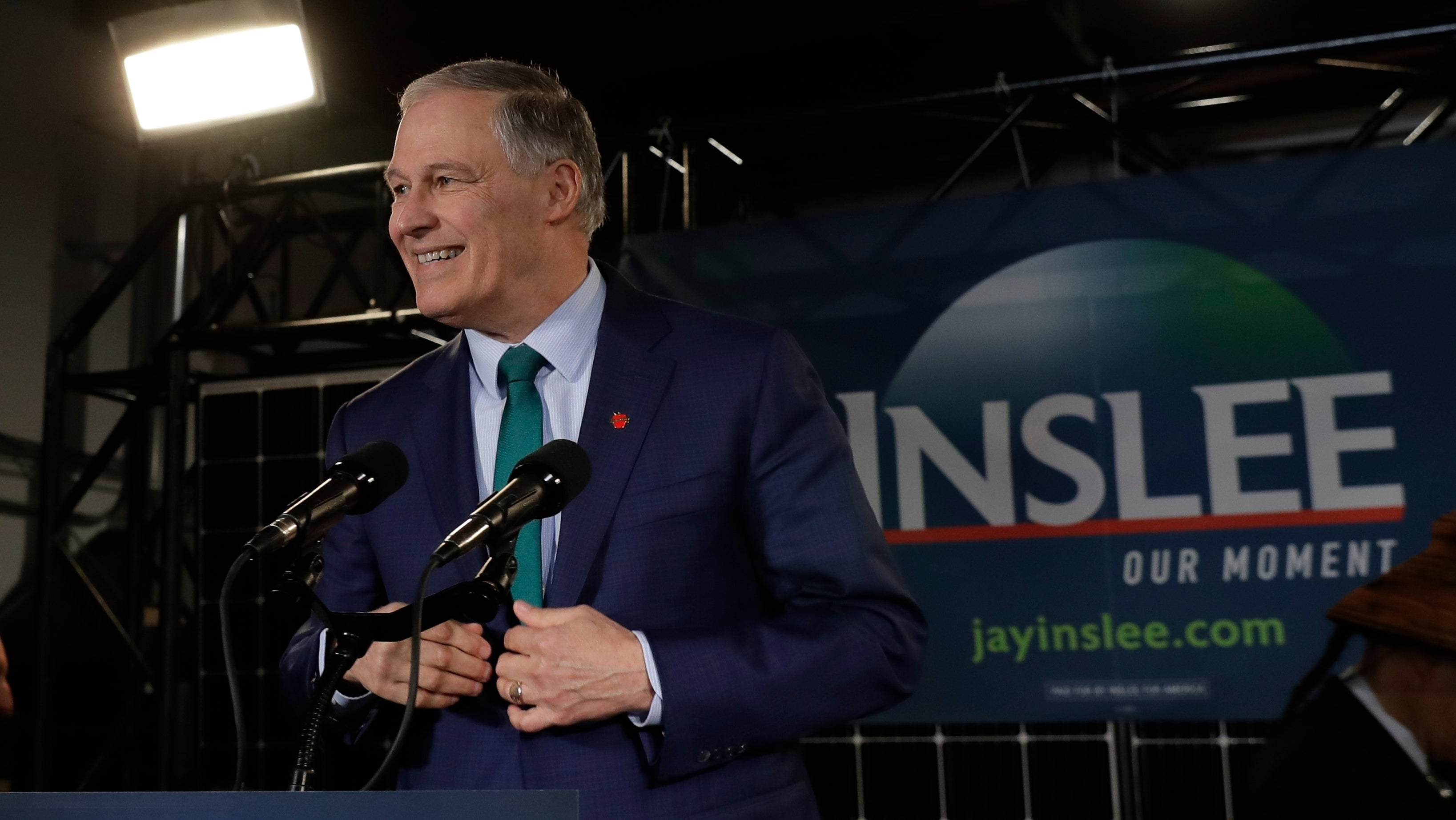 Days After Announcing Presidential Bid, Jay Inslee Stresses The 'Enormous Costs' Of Climate Change