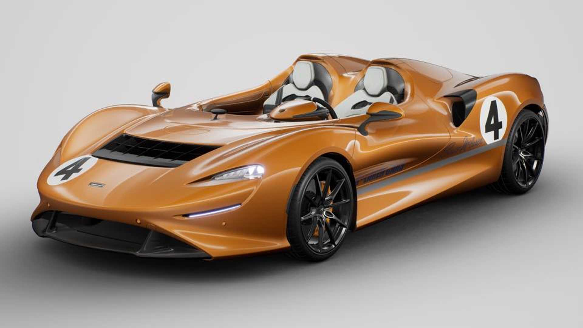 McLaren's Latest One-Off Vanity Project Is Very Orange And Finally Makes Sense To Me