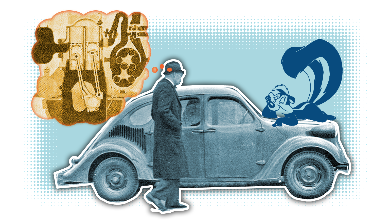 GM's 1930s Rear-Engine Experimental Cars Had The Weirdest And Stinkiest Engines Ever