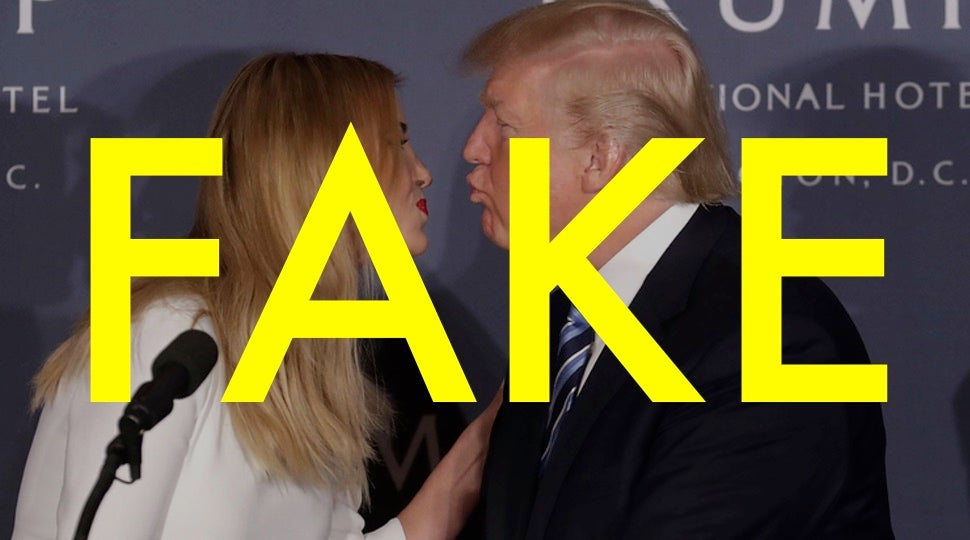 That Ivanka Trump Quote About Wanting To Spray Her Father With Mace Is Totally Fake