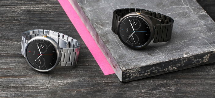 Motorola's Gold Moto 360 Is Real, and So Is Its Activity Tracking App