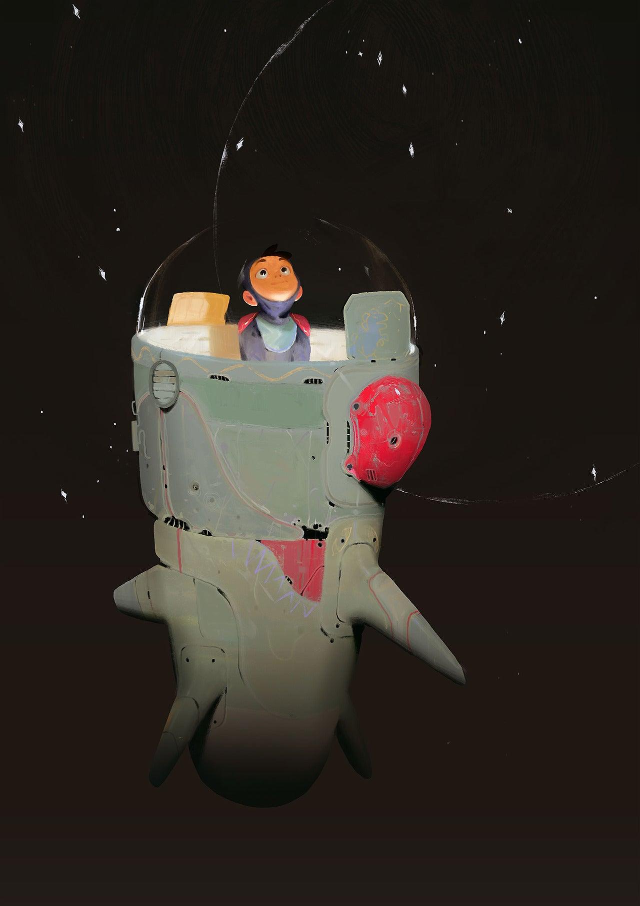 Alexandre Diboine's Art Is The Highlight Of My Week