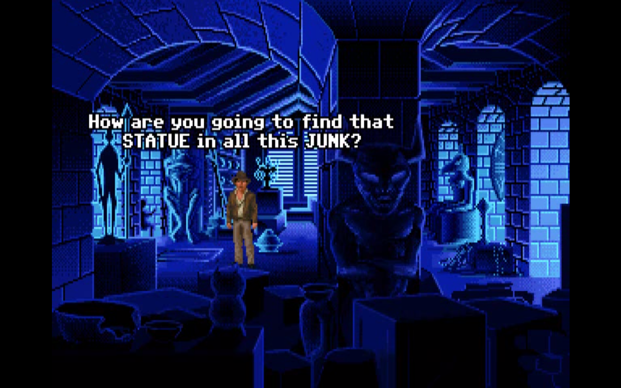 Fate Of Atlantis And Movie Techniques In Games
