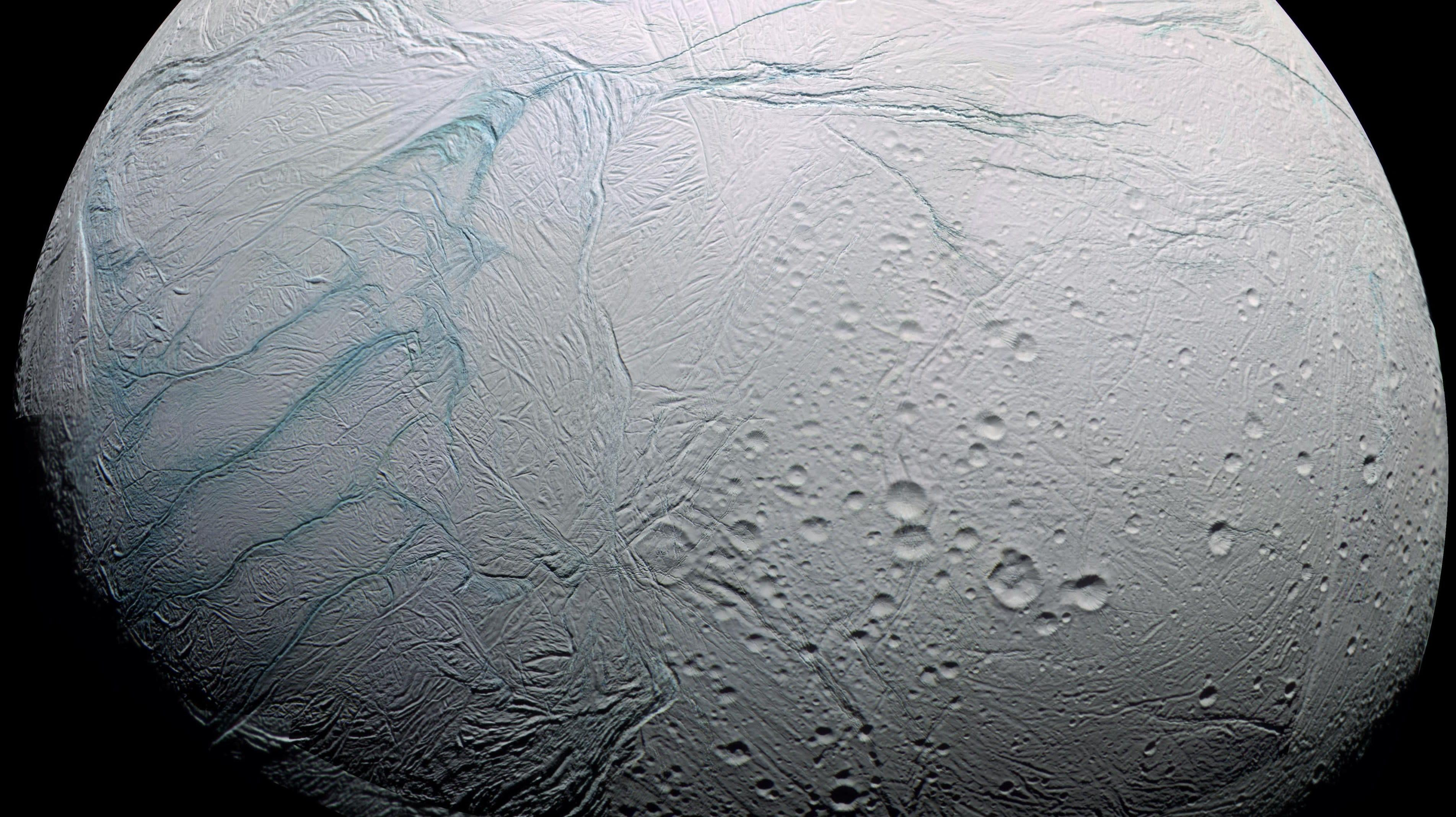 How Saturn's Moon Enceladus Got Its Freaky 'Tiger Stripes'