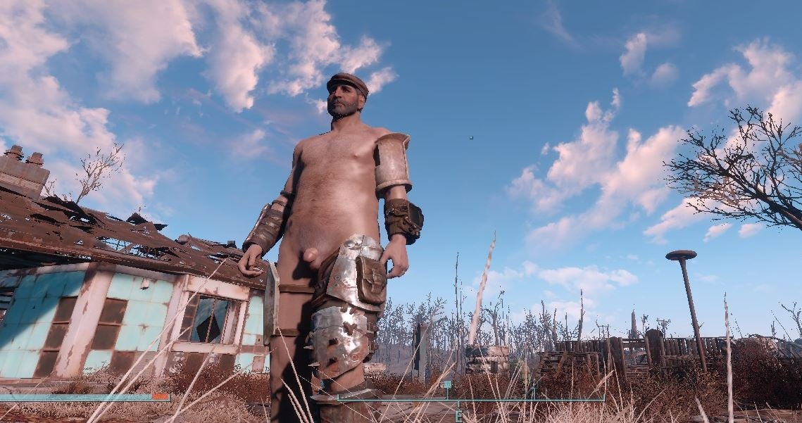 'The Big Erect One Looks Weird': What It's Like To Make Fallout 4 Dick Mods