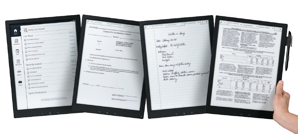 Sony's Digital Paper: A Bit Like Paper, a Lot Like $US1,100