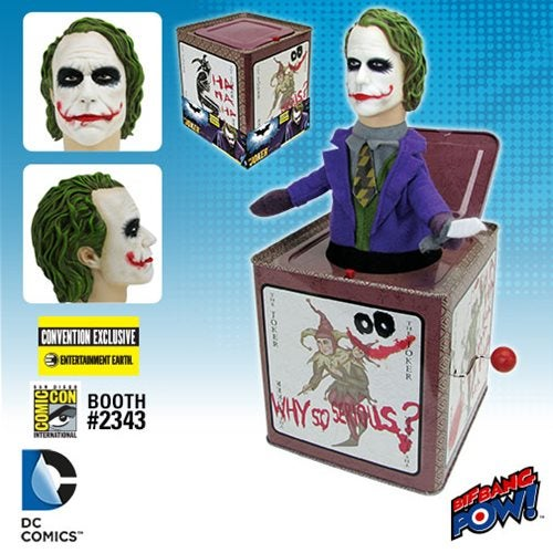 The Heath Ledger Joker-in-a-Box Is the Stuff of Nightmares