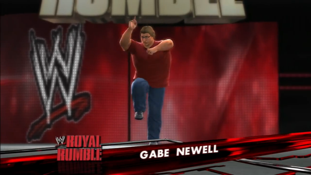 Pro Wrestling Is So Much Better With Sonic and Gabe Newell