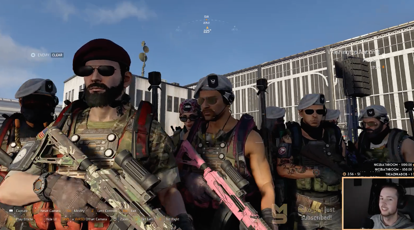 Division 2 Players Beat Game's First Raid In Five Gruelling Hours