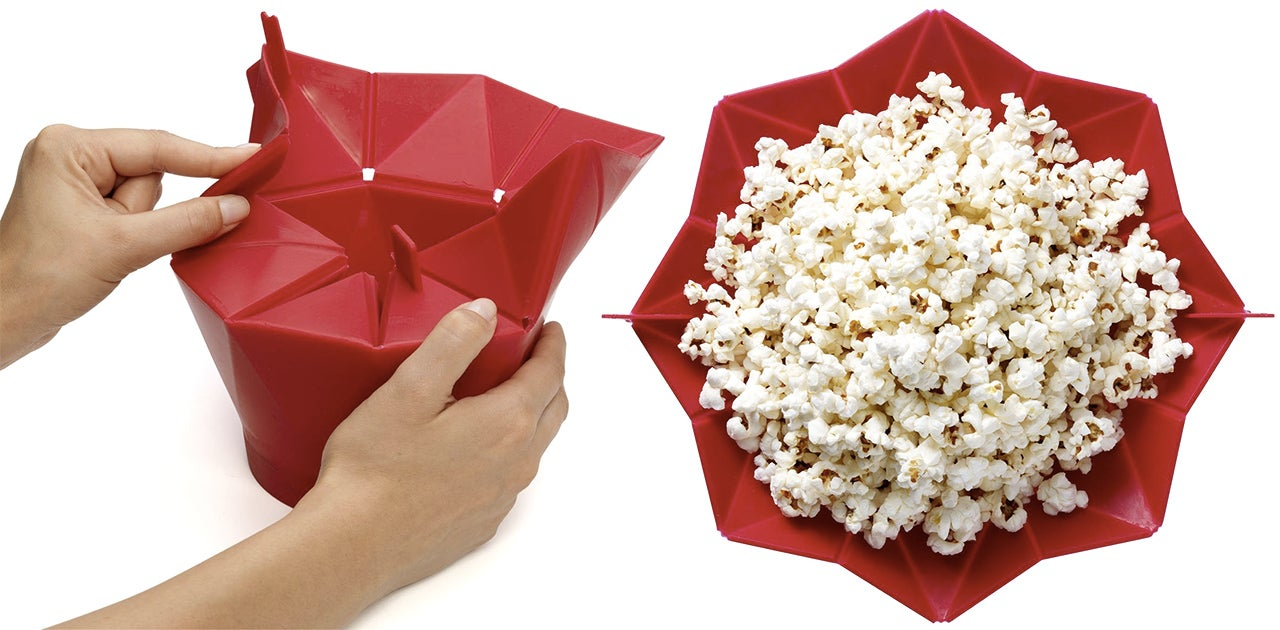 It's BYOK(ernels) With This Re-Usable Microwave Popcorn Bag