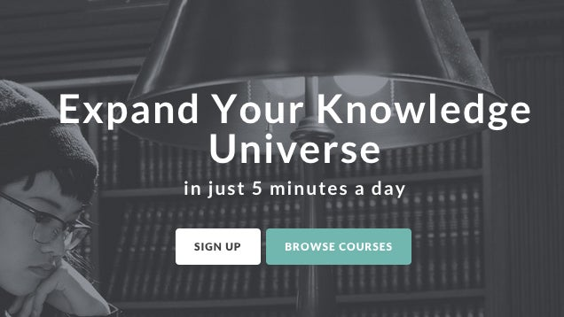 Highbrow Starts Your Morning with an Educational Course