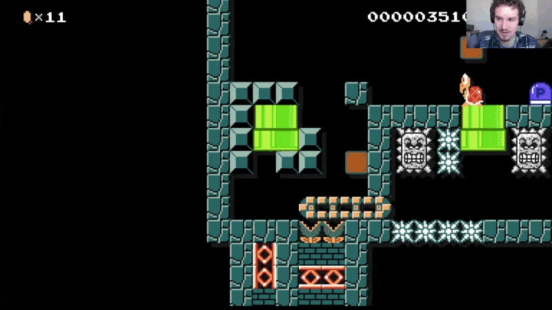 An Eight-Year-Old Just Wrecked Me In Mario Maker