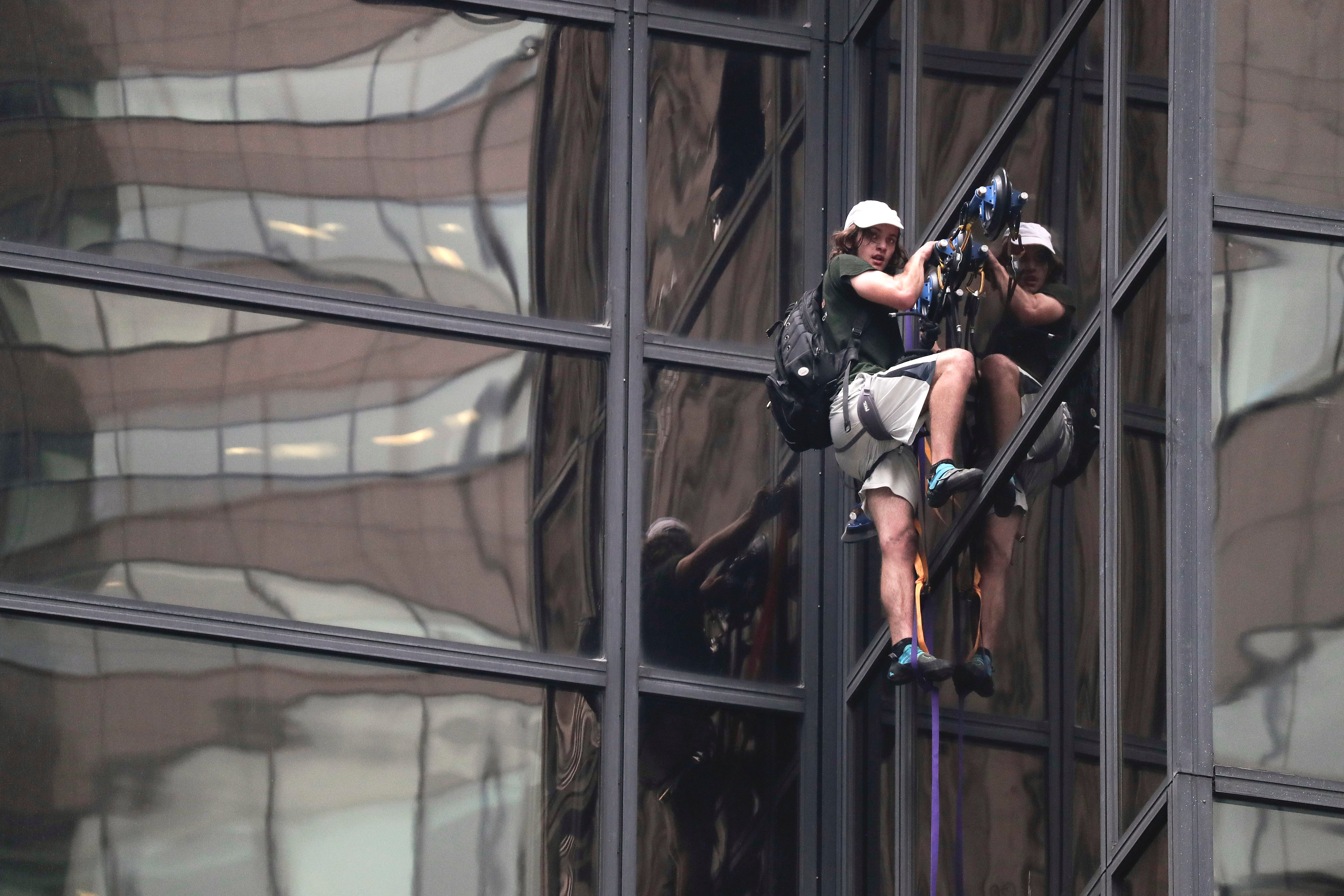 How That Guy Scaled Trump Tower Without Going Splat