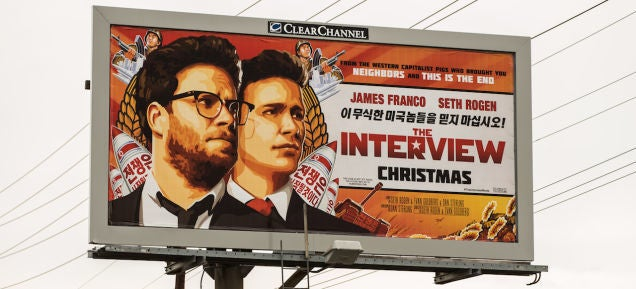 The Interview Chalked Up $US15 Million in Online Sales Over Christmas