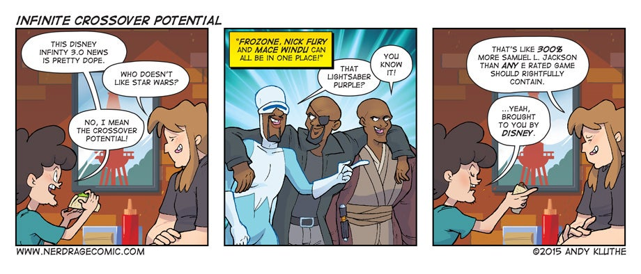 Sunday Comics: 300 Per cent Sam Jackson