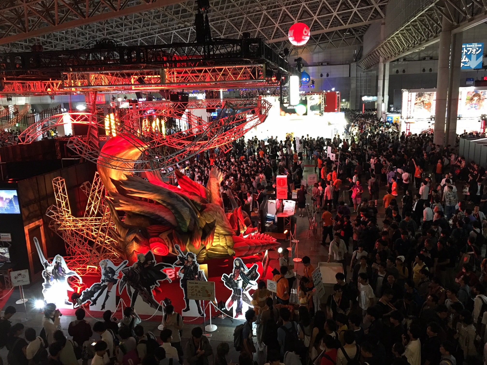 The Games That Drew Big Crowds At The Tokyo Game Show