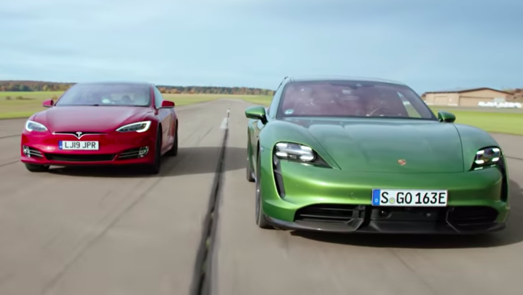 Here's How The Porsche Taycan Did Against The Quickest Tesla Model S [Updated]
