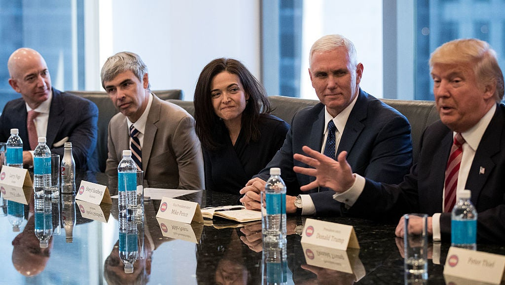 Report: Silicon Valley Played Trump Like A Fiddle At Last Year's Tech Summit