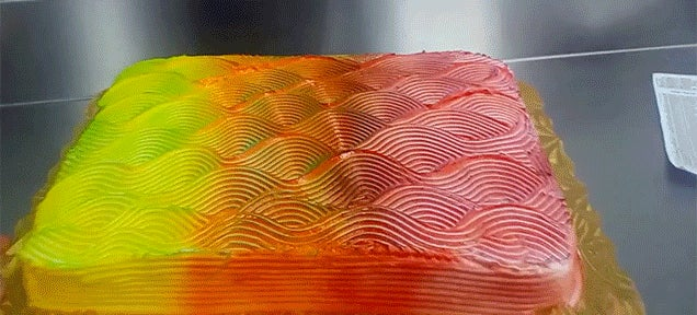 This Colour Changing Cake Is Breaking My Brain