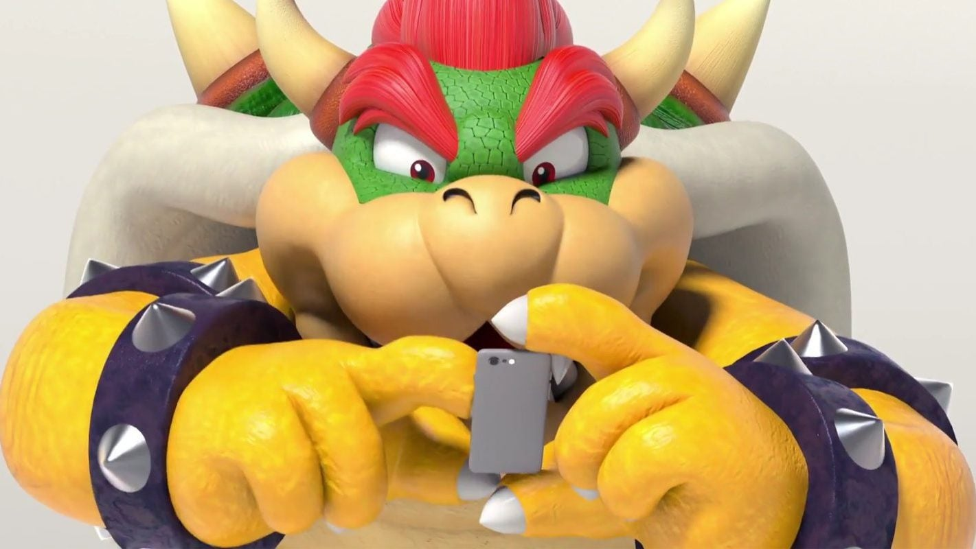 The Internet Has Been Replaced By Bowser Wearing The Super Crown