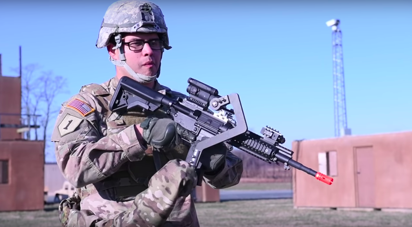 The US Army Is Exploring Mechanical Third Arms And Exoskeletons For Soldiers