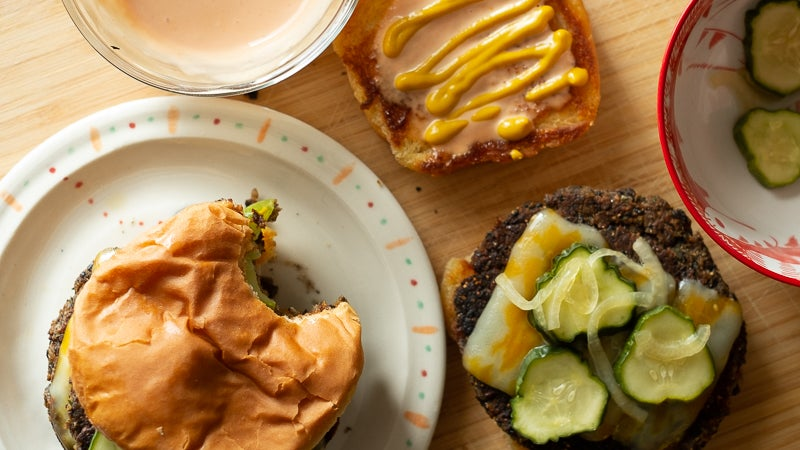 Everything You Need To Make Delicious Veggie Burgers