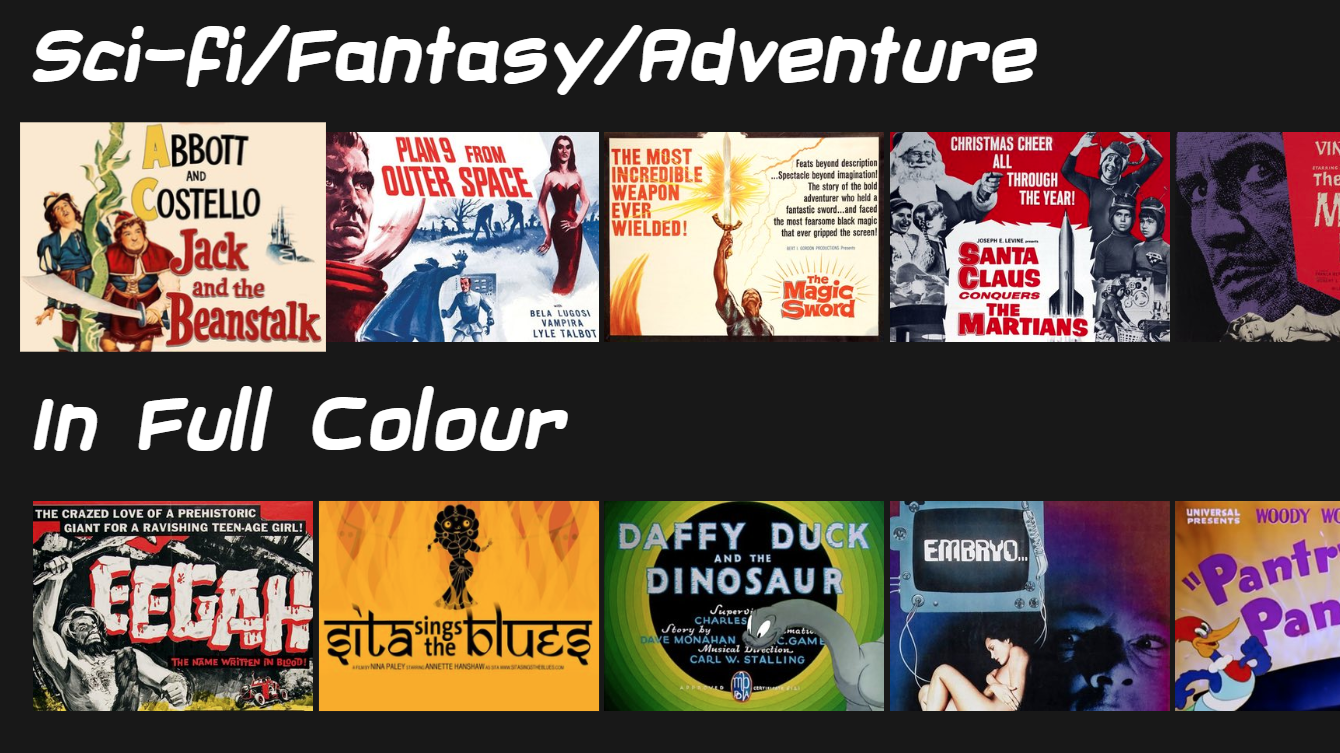 Watch Classic Public-Domain Movies On This Netflix Clone