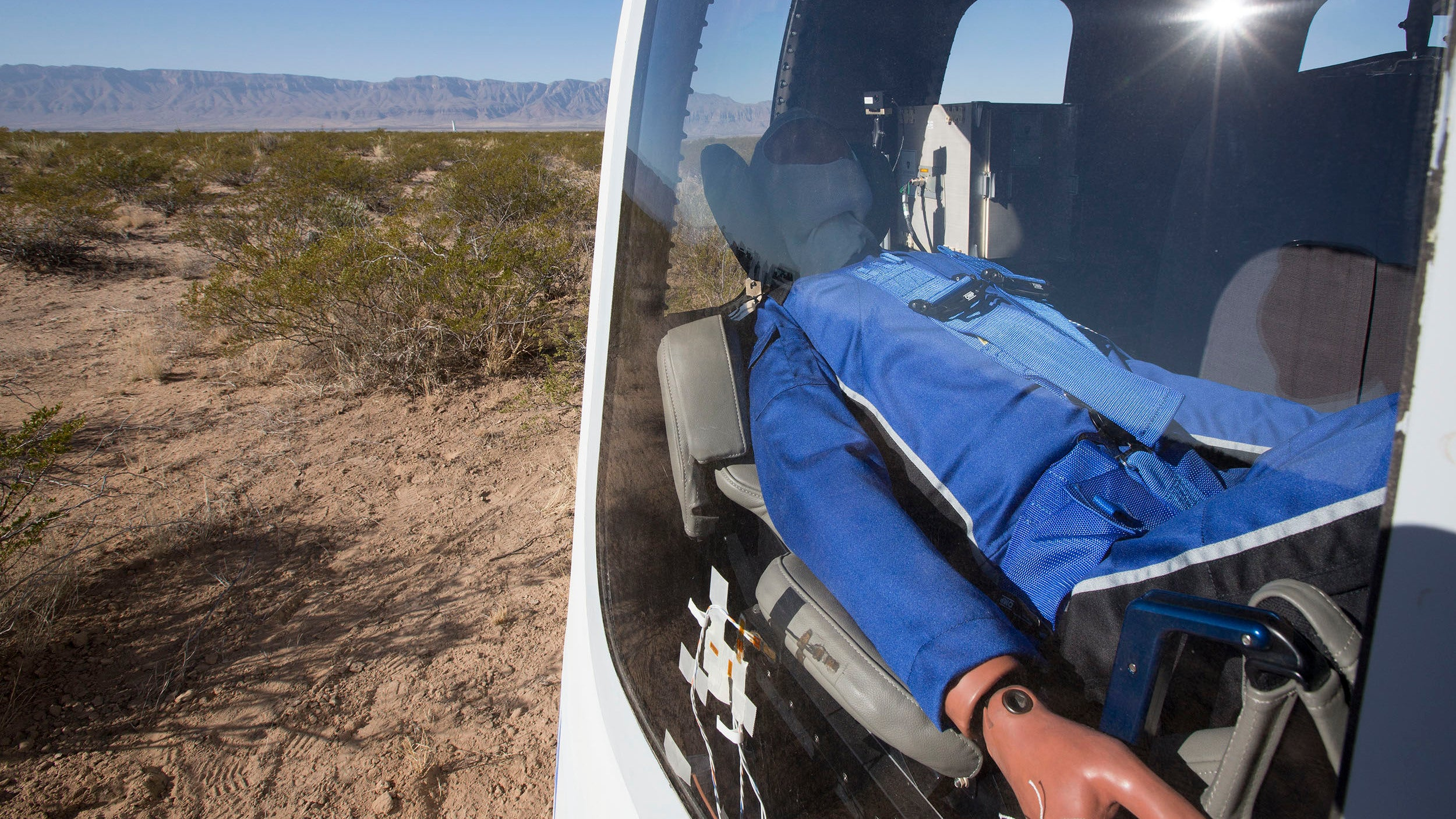 Blue Origin flies its Crew Capsule 2.0 for the first time