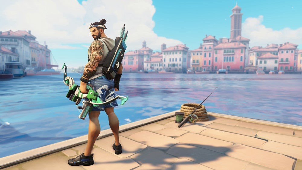 The Internet Reacts To Hanzo's Abtacular Summer Skin