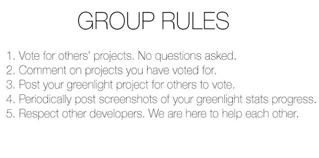 Fed Up With Steam, Devs Unite To Score Extra Greenlight Votes