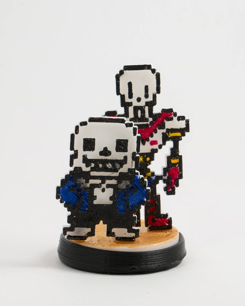 Custom Undertale Amiibos Are Works of Art