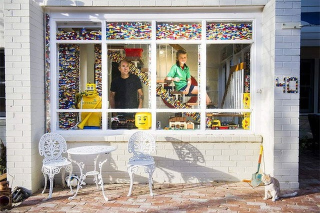 Man Literally Owns Over A Tonne Of LEGO