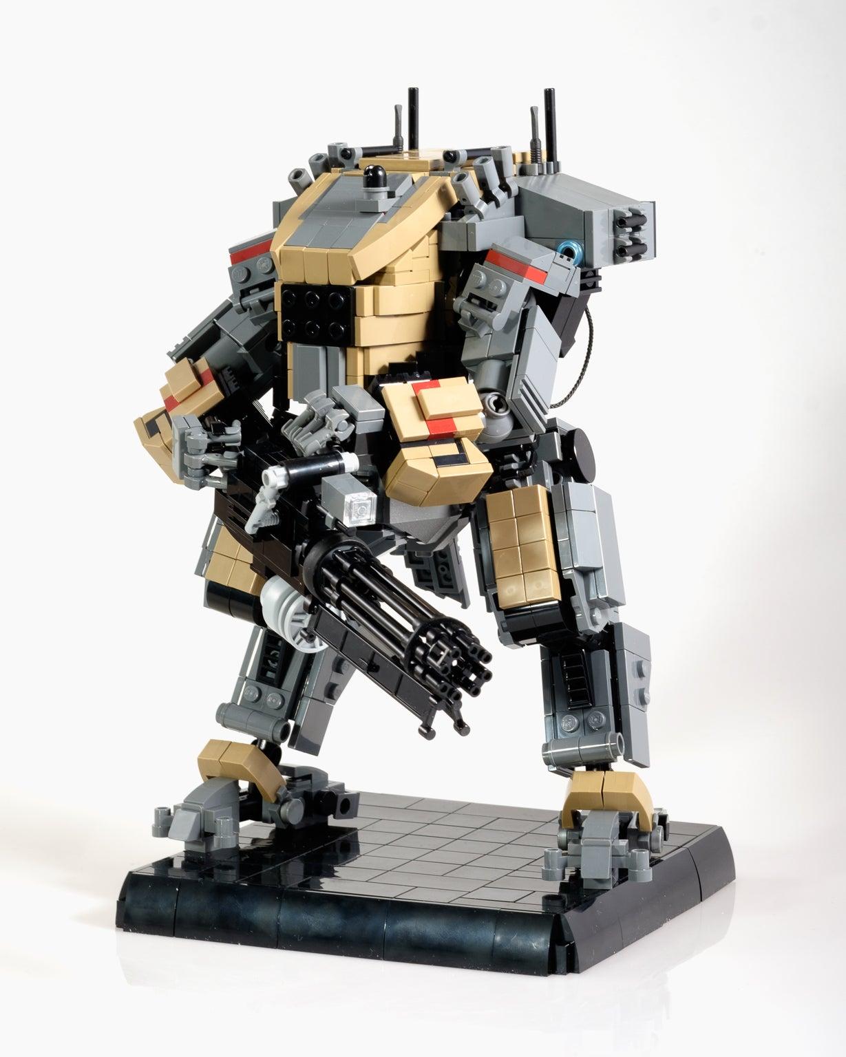 Custom Titanfall LEGO Is Great Kotaku Australia